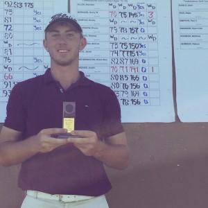 Justin Higgins wins Idaho Golf Association Junior District 1 - Championships