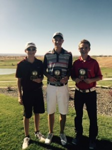 Connor Mahoney ties for first place (picture courtesy of RMJGT)