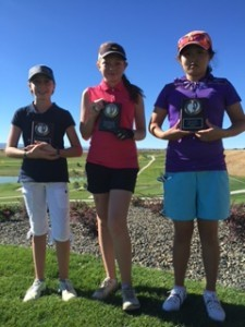 Carly Carter 1st and Christine Cho 2nd (picture courtesy RMJGT)