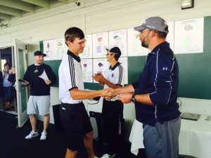Carson Barry finished 2nd in 2016 District Tournament
