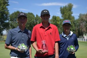 Jake O'Neil - Idaho Boys Junior Golf Champion Ages 14-15