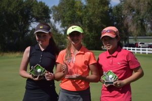 2016 IGAJ State Championship Girls Ages 13 - Christine Cho and Carly Carter
