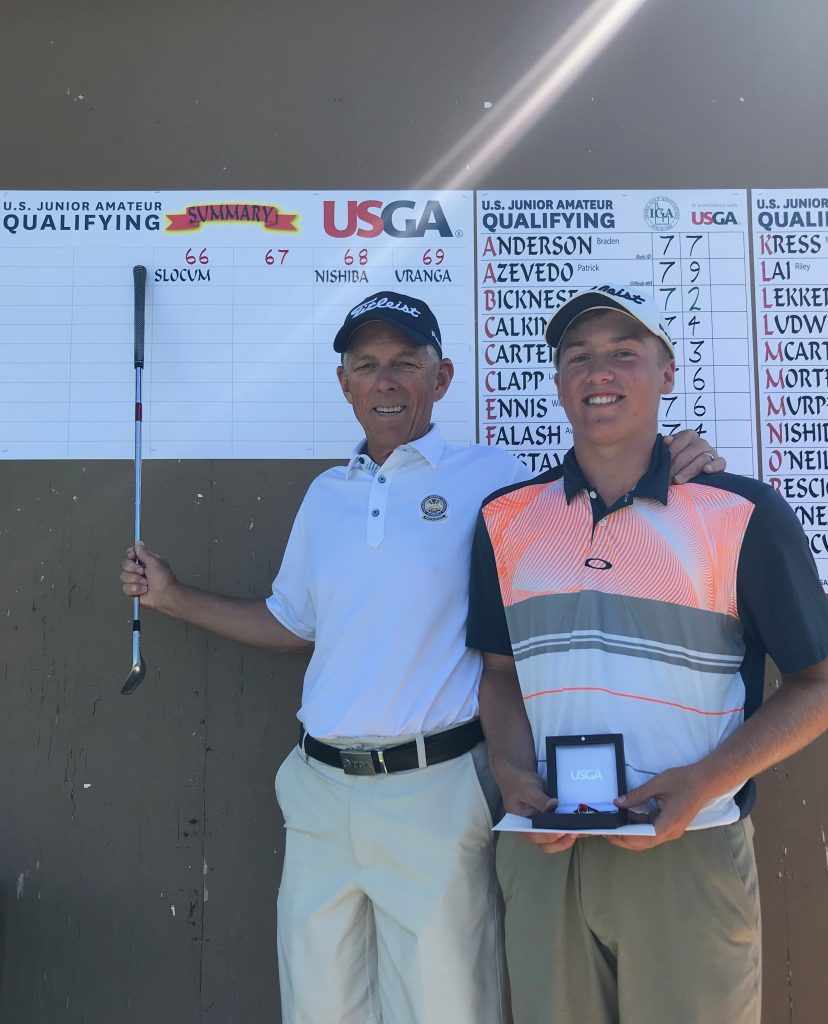 Jake Slocum 2019 USGA Qualifier