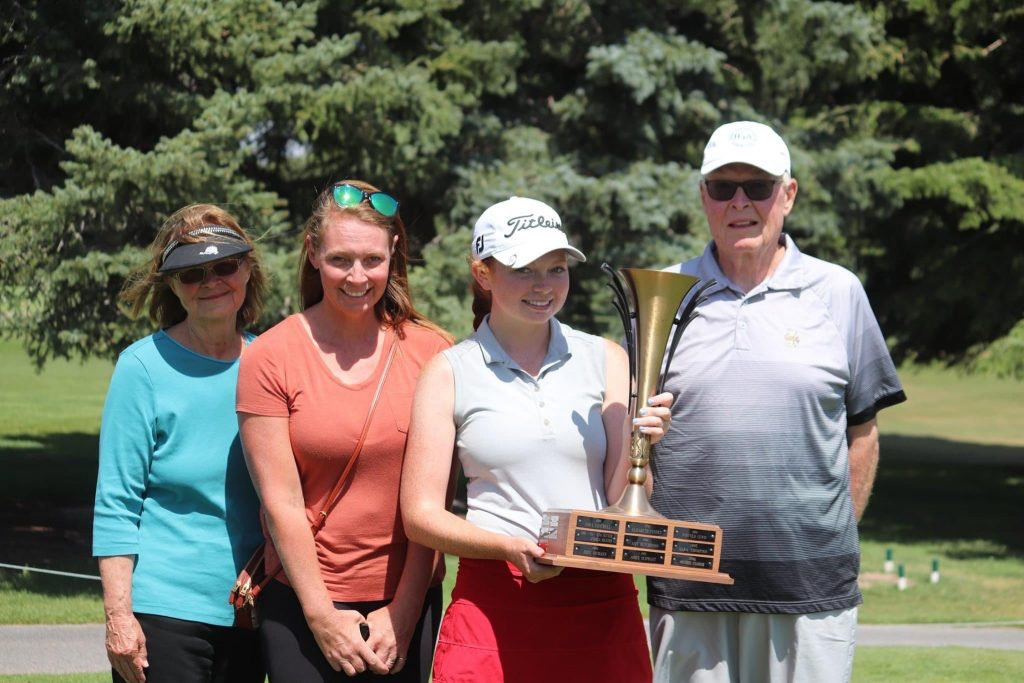 Carly Carter is the 2020 Idaho Girl's State Junior Champion